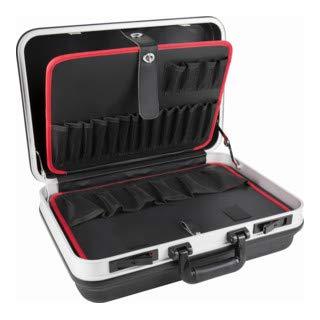 STIER Werkzeugkoffer Basic leer, ABS-Kunststoff...