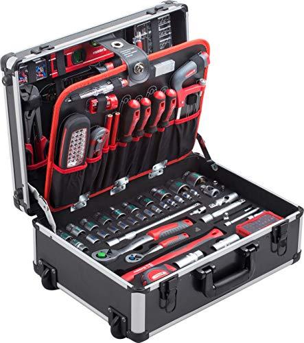 Meister Werkzeugtrolley 156-teilig - Werkzeug-Set - Mit...