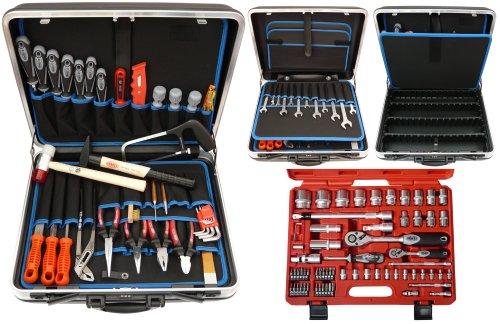 Famex 620-21 Werkzeug Komplettset Top-Qualität in ABS...