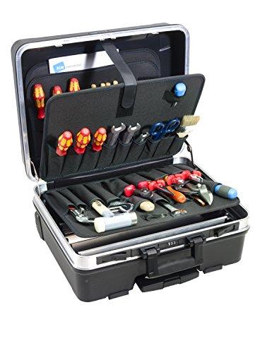 B&W Werkzeugkoffer go pockets (großes Fassungsvermögen,...