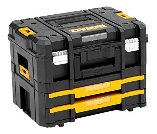 DeWalt TSTAK stabelbare Werkzeugbox (Transportbox Combo...
