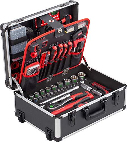 Meister Werkzeugtrolley 238-teilig - Werkzeug-Set - Mit...