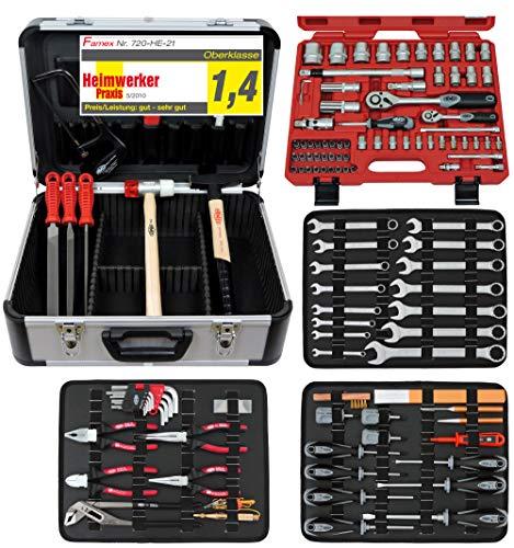 Famex 720-21 Mechaniker Werkzeugkoffer mit...