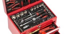 Mannesmann Bestückte Werkzeugbox 155-tlg., M29066 - 1