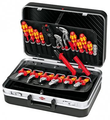 KNIPEX 00 21 20 Werkzeugkoffer Elektro 20-teilig -