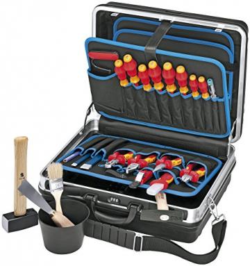 Knipex Montagekoffer Elektro-Installation, 24 Stück, 002105HLS -
