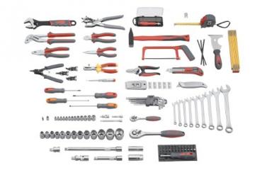 Meister Werkzeugkoffer 129-teilig, 8971410 -