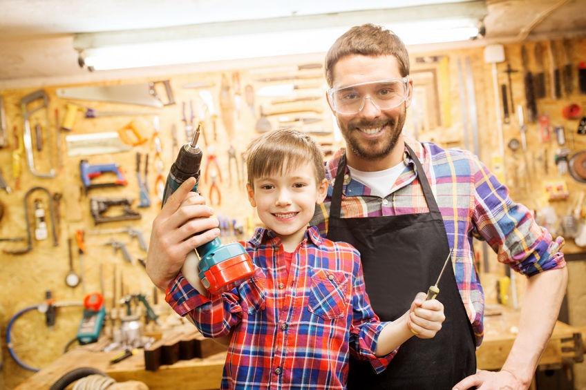 Vater-Sohn-Werkzeug
